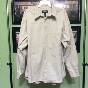 Eddie Bauer Mens Button Down Size XXL